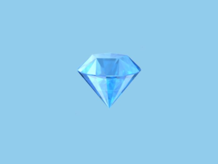 El significado del emoji de diamante crystal meth cristal