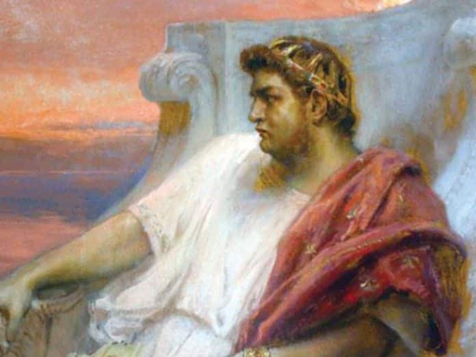 emperador Nerón amante