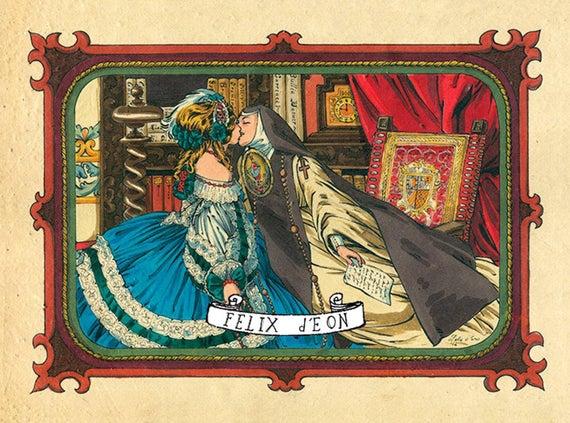 Sor Juana y la Virreina Féliz D'eon