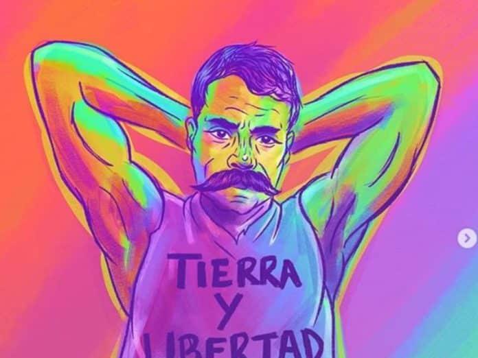 dibujar zapata gay portada