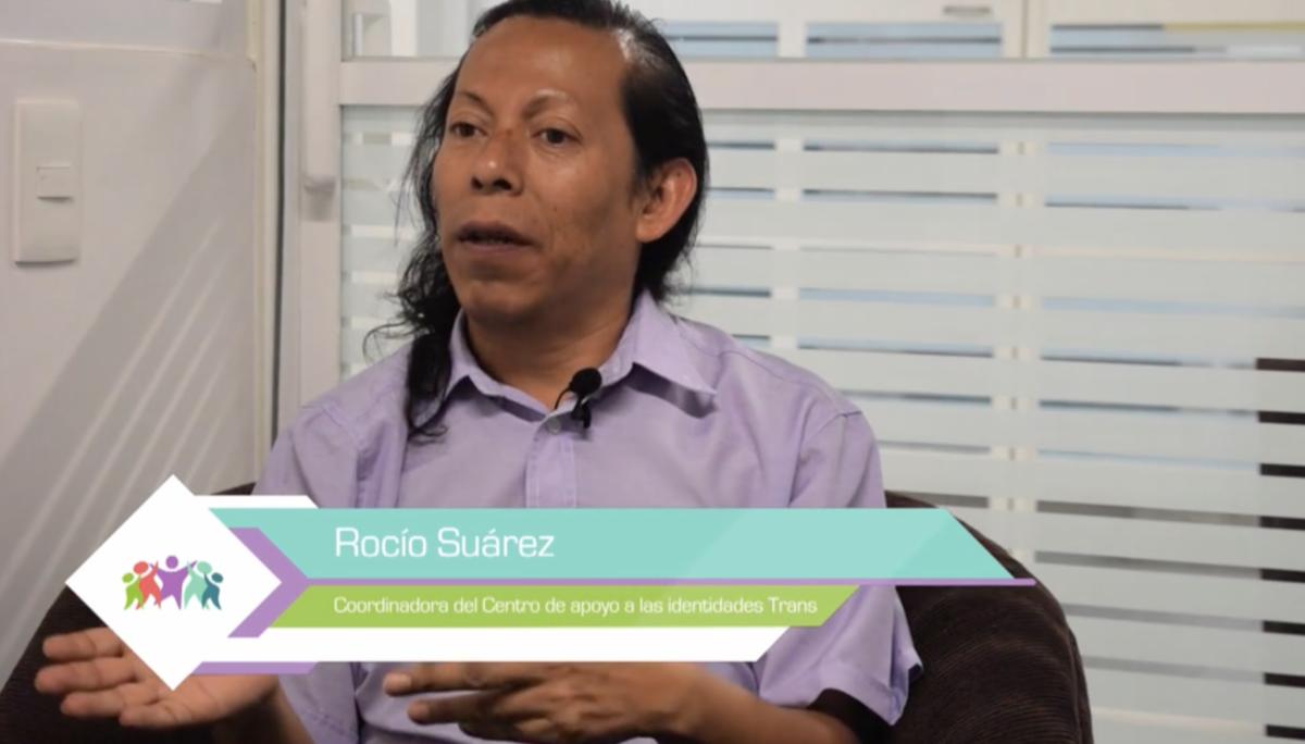 rocío suárez migrantes LGBT+ méxico ayuda
