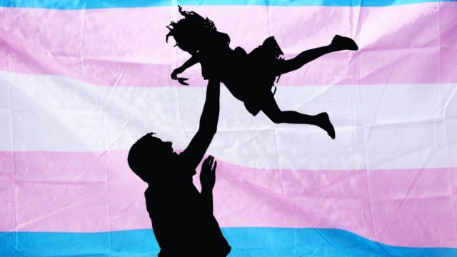 publicación papá hija trans