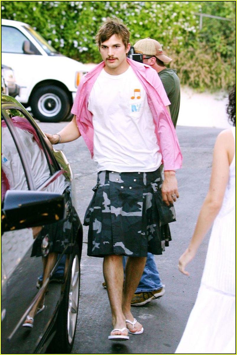 falda hombre