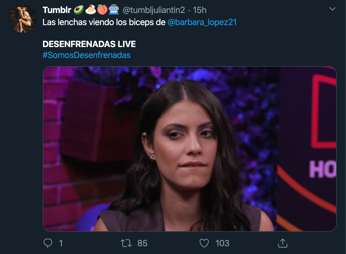 Bárbara López Live Desenfrenadas