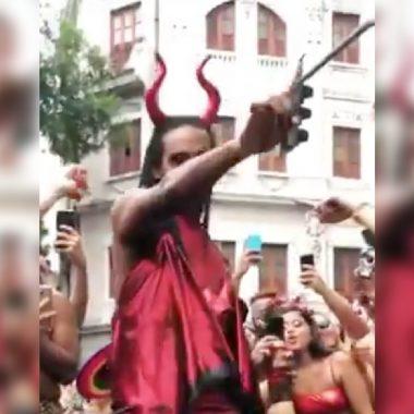 jesús satanás carnaval gay