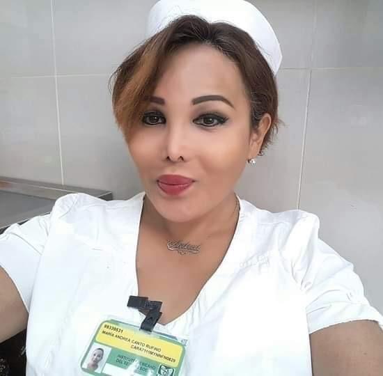 Andrea enfermera transgénero