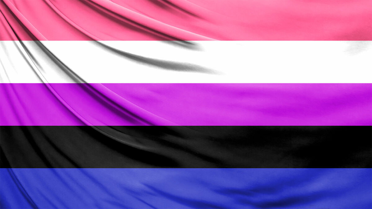 Bandera de género fluido