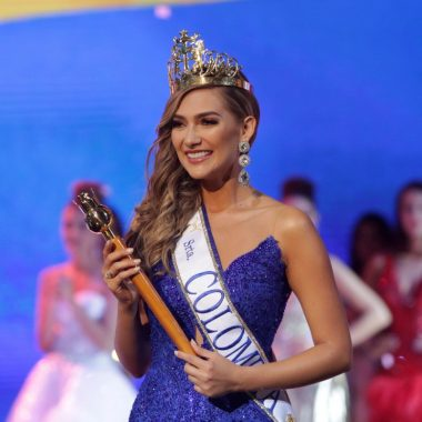 Natalie Ackermann, actual directora de Miss Universo Colombia