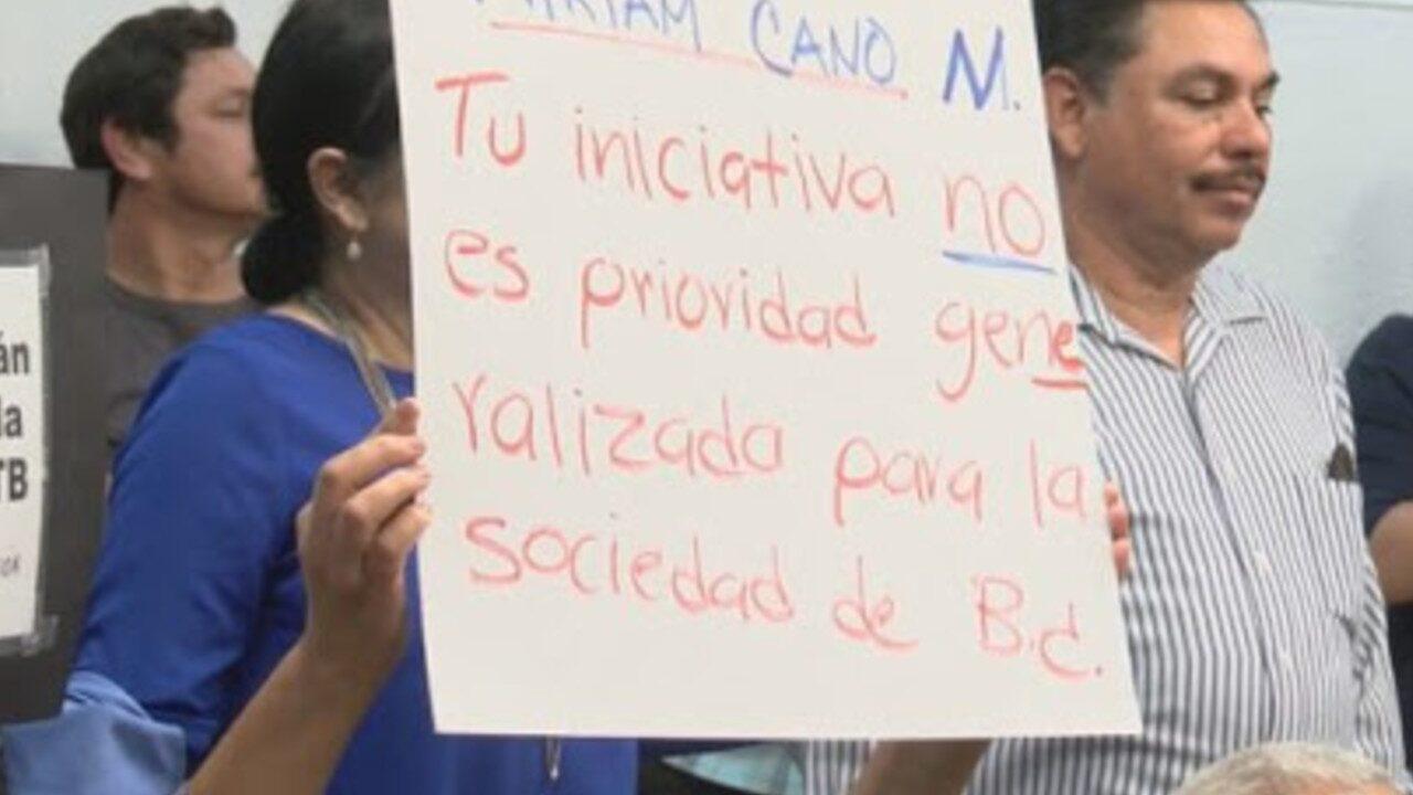 rechazó matrimonio igualitario Baja California