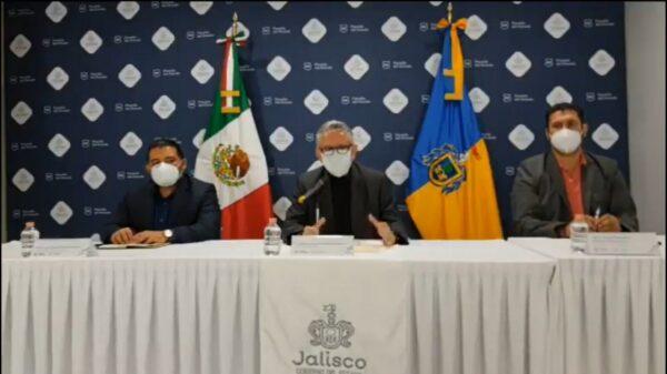 Conferencia de prensa de la Fiscalía de Jalisco sobre el caso de Jonathan Santos