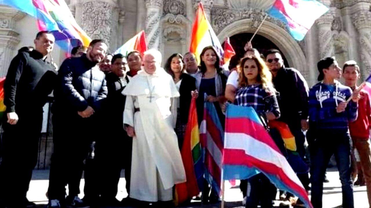 CElebración de la organización LGBT San Aelredo