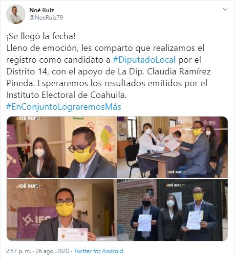 candidato LGBT+ elecciones Coahuila