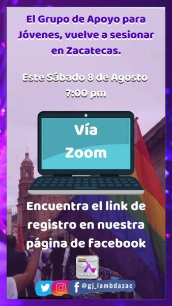 Grupos apoyo LGBT de Zacatecas