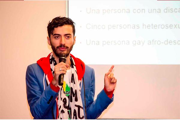 Alex Orué, integrante del Colectivo PTFY alertó sobre las posibles consecuencias de la ley mordaza para la comunidad LGBTQ+