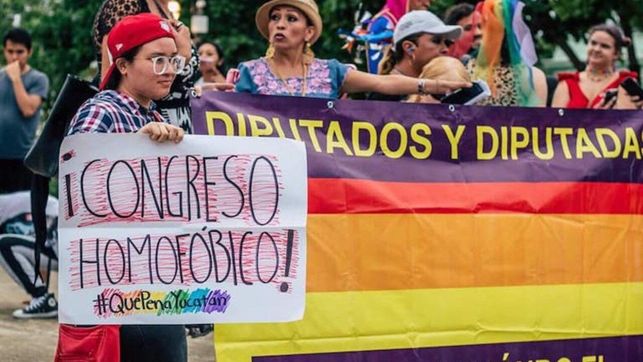 El Congreso de Yucatán aprobó una potencial ley mordaza que podría afectar las protestas en redes sociales de la comunidad LGBTQ+
