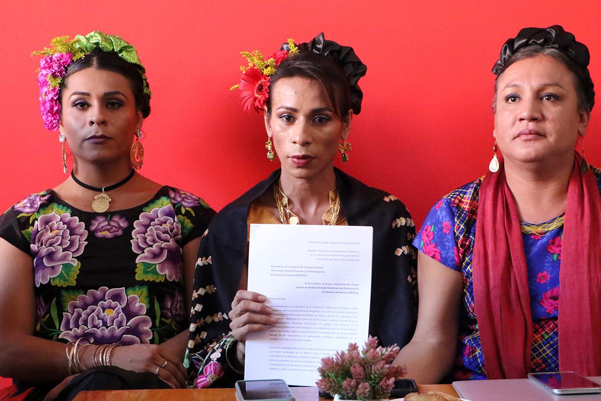muxes y trans de Oaxaca denuncian usurpación de identidad de género