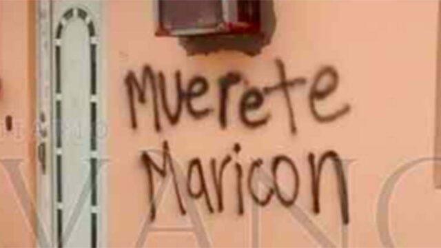 Amenazas homofóbicas en contra del artista veracruzano.