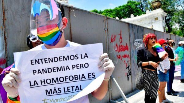 Protestas LGBT+ en Colombia