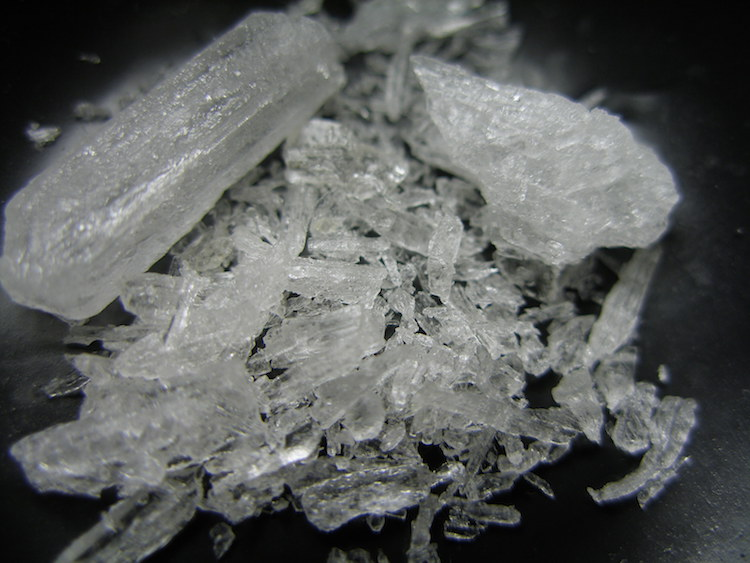 uso cristal crystal meth