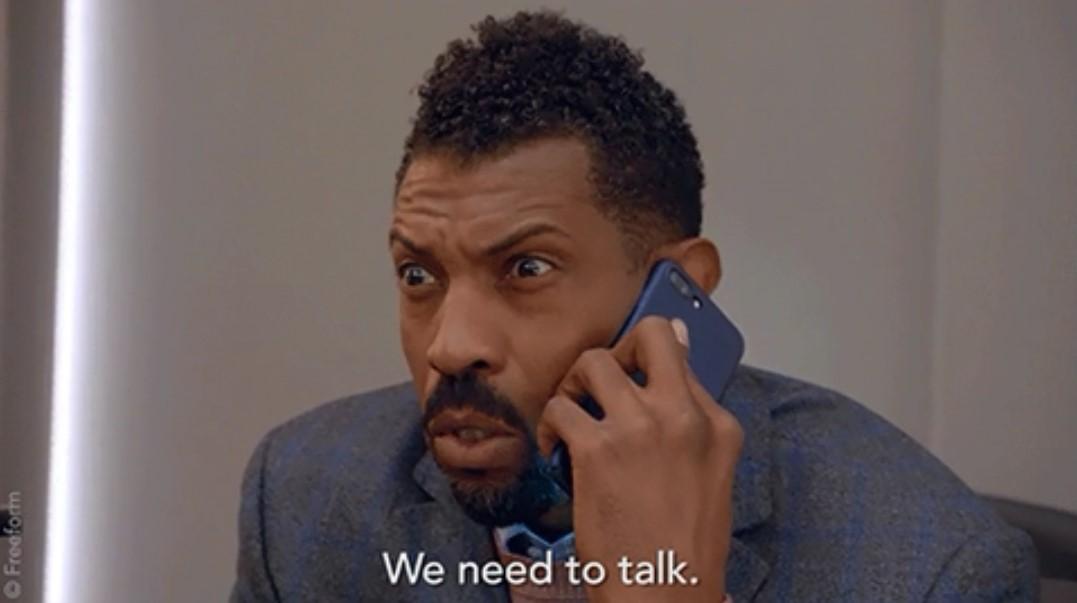tenemos que hablar