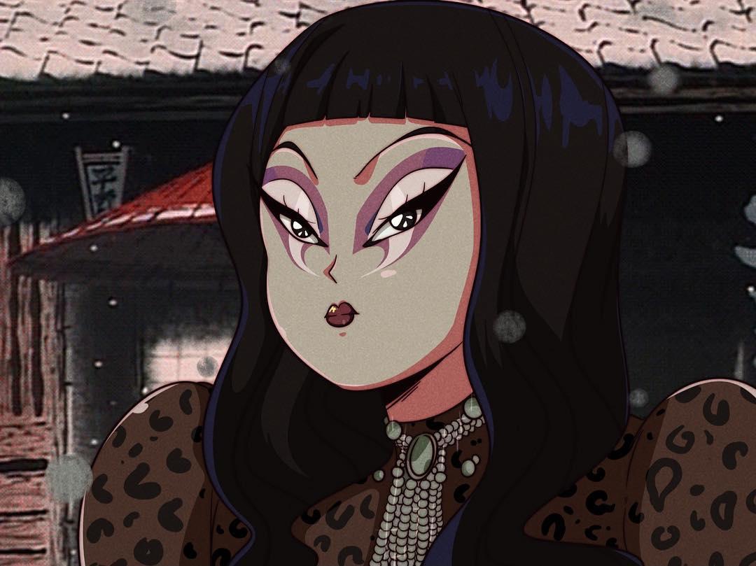 ilustración Kim Chi