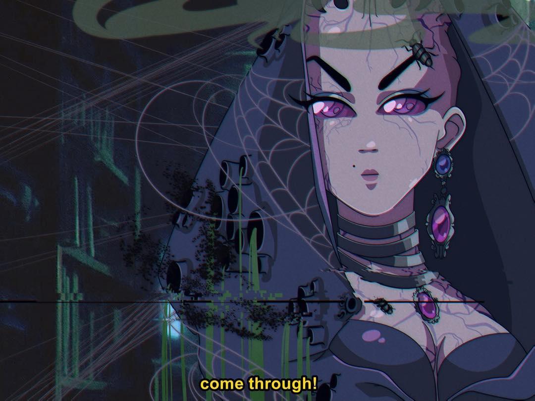 ilustrador anime drag