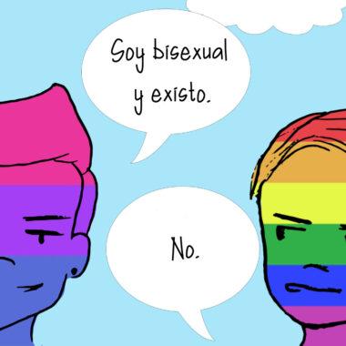 invisibilizar la bisexualidad bifobia