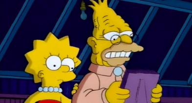 Lisa abuelo Simpson bisexuales