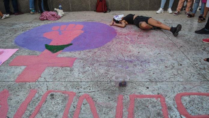 Manifestación por el ataque lesbofóbico a una chica de 23 años en Cancún