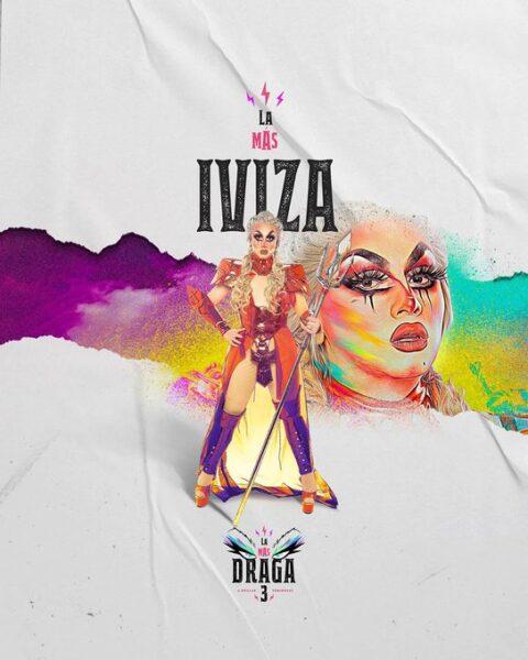 Iviza Lioza, una de las concursantes de La más draga 3