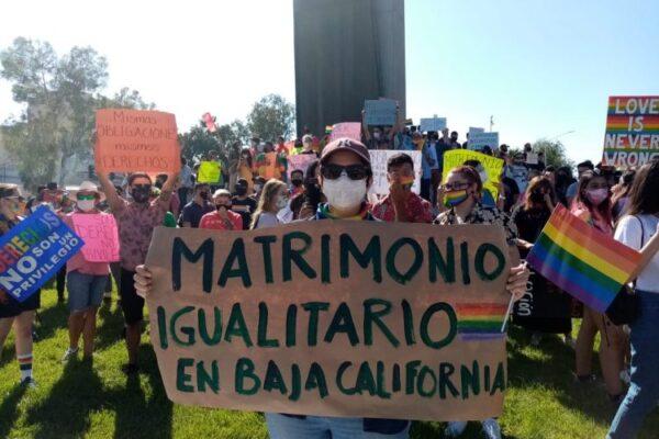 matrimonio igualitario en Baja California