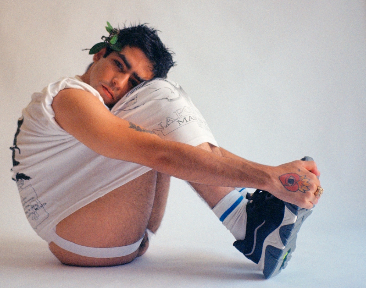 Omar Ayuso jockstrap interview magazine