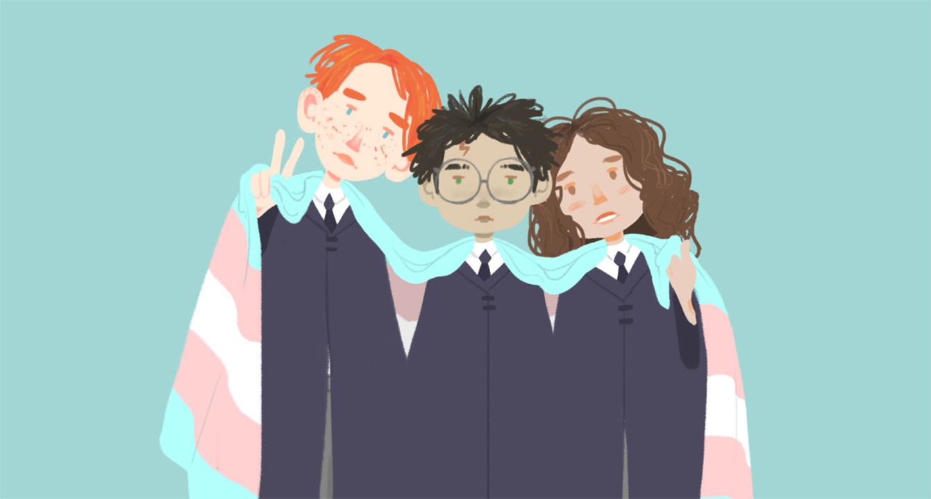 Una persona que nació con el nombre Harry Potter hizo una poderosa declaración en favor de la comunidad trans.