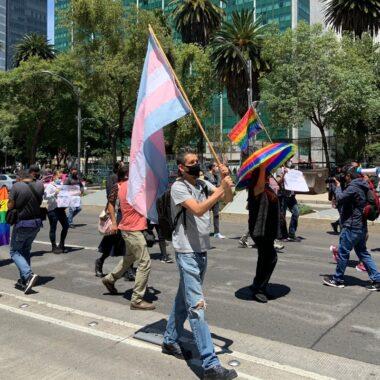 protestas por crímenes de odio en CDMX