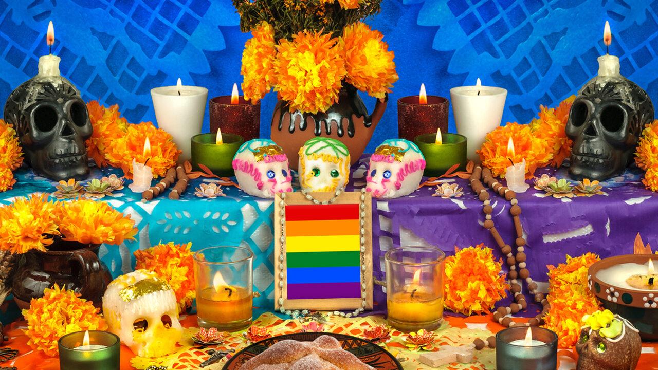 altar de muertos comunidad LGBT Oaxaca