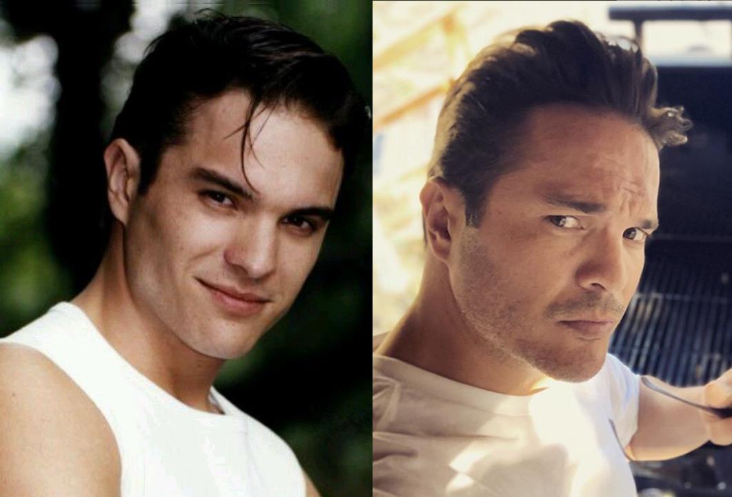 antes y después de galanes de telenovela de los 90