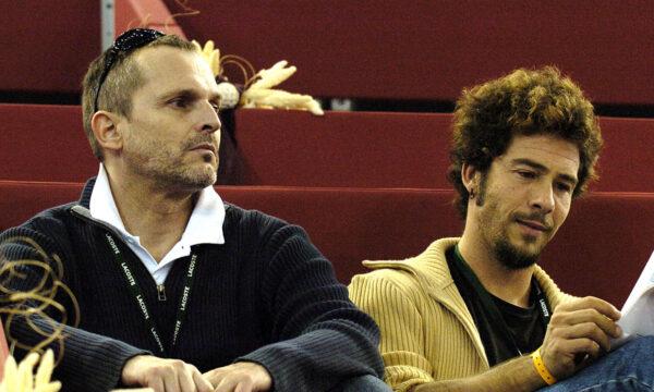 Miguel Bosé y su ex Nacho Palau