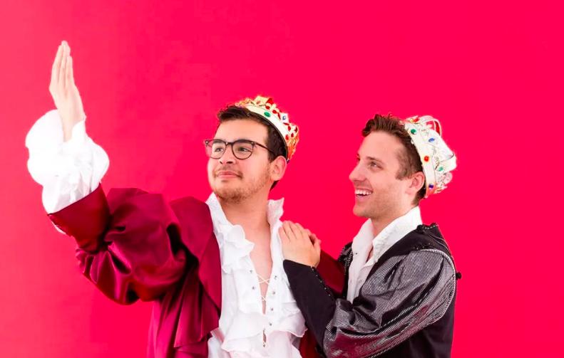 Príncipes enamorados disfraces halloween gay