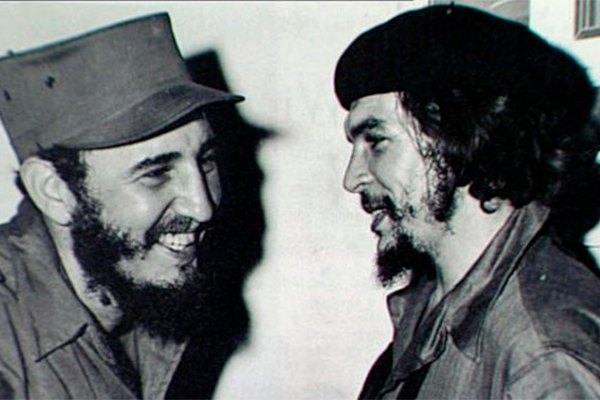 Fidel Castro Che Guevara homofóbico
