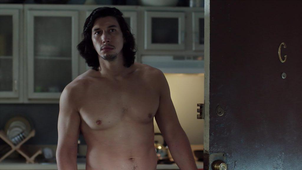 famosos desnudos Adam Driver