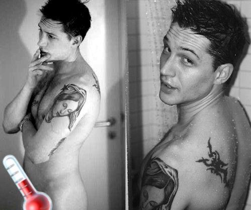 Tom Hardy desnudo