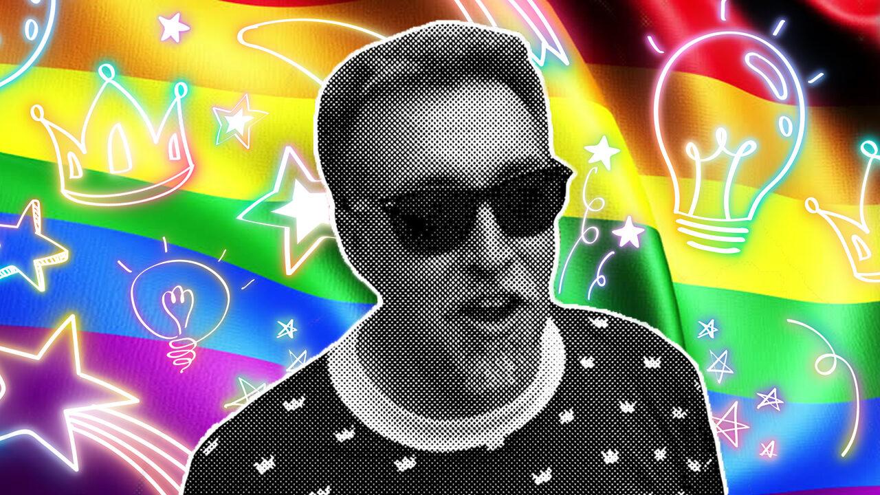 Gilbert Baker creador bandera LGBT+