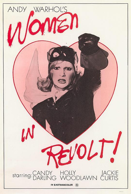 Women in revolt Andy Warhol