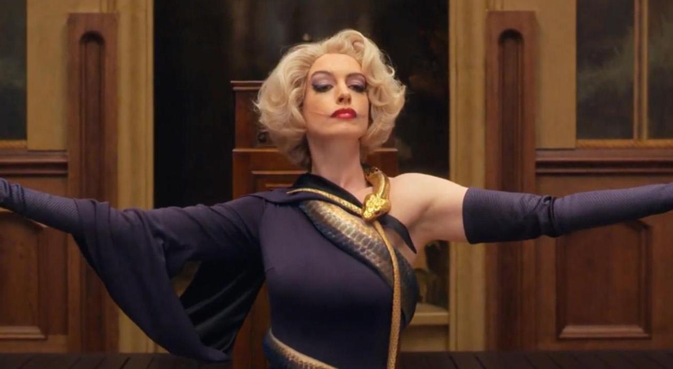Anne Hathway en el remake de la película Las Brujas