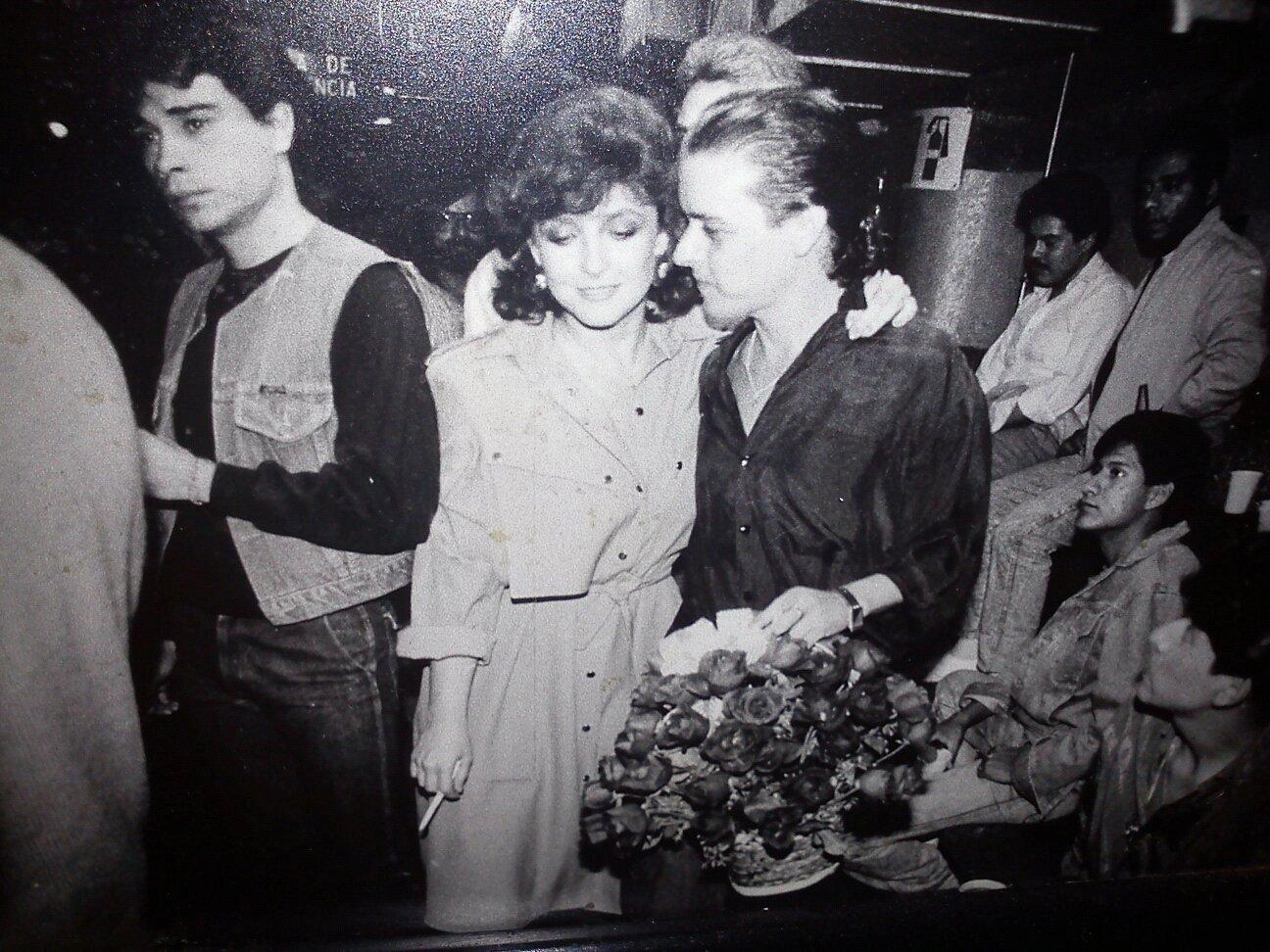 Angélica María y Luis Zapata