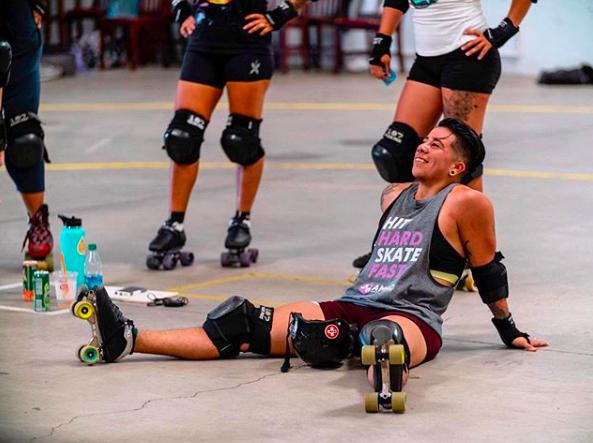 Dannie Darko trans roller derby competencia