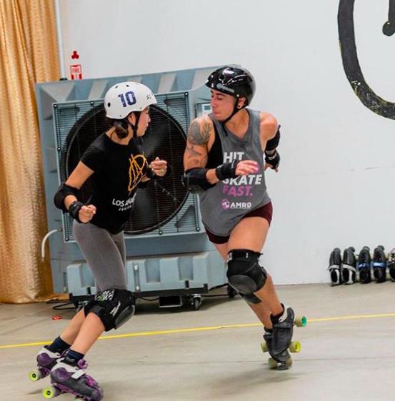 Dannie Darko trans roller derby patinar