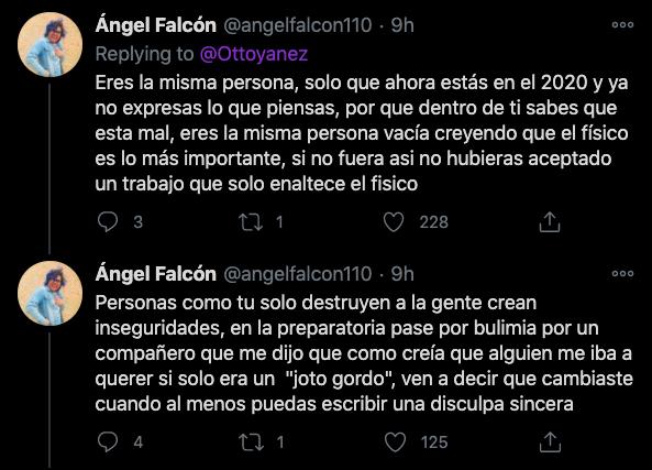 respuesta disculpa Ottoniel yañez toxico draga