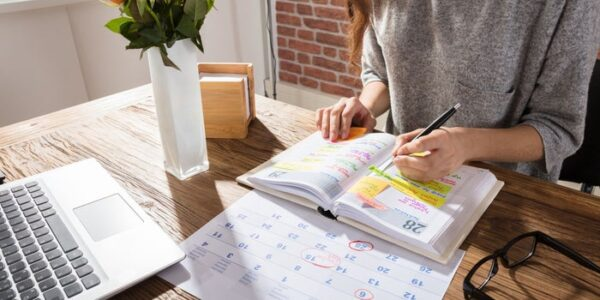 covid home office agendar actividades
