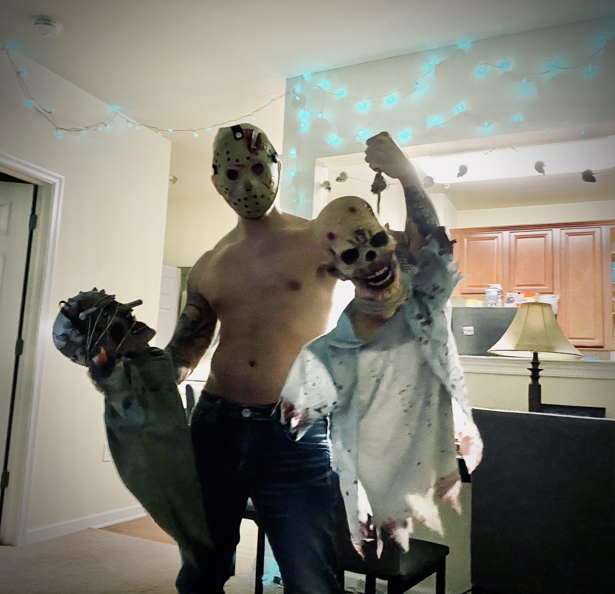 Steve Rickz actores porno disfraces halloween